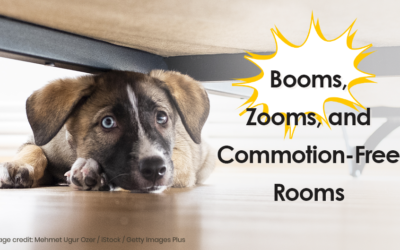 Booms, Zooms, and Commotion-Free Rooms